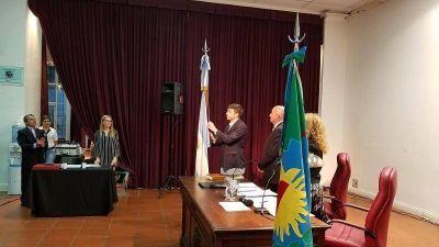 Juraron los Concejales electos en octubre y Cenizo preside el HCD