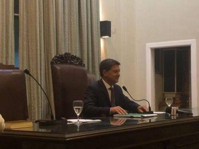 Juró el nuevo HCD: Ernesto Mancino es el presidente
