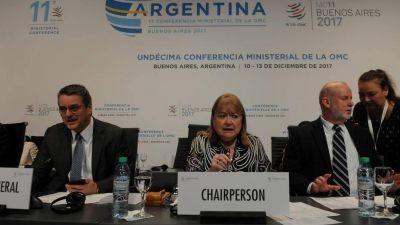 Argentina insiste en la eliminación de los subsidios al agro y a la pesca