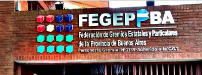FEGEPPBA manifestó a funcionarios bonaerenses su preocupación por el IPS y eventuales reformas ministeriales