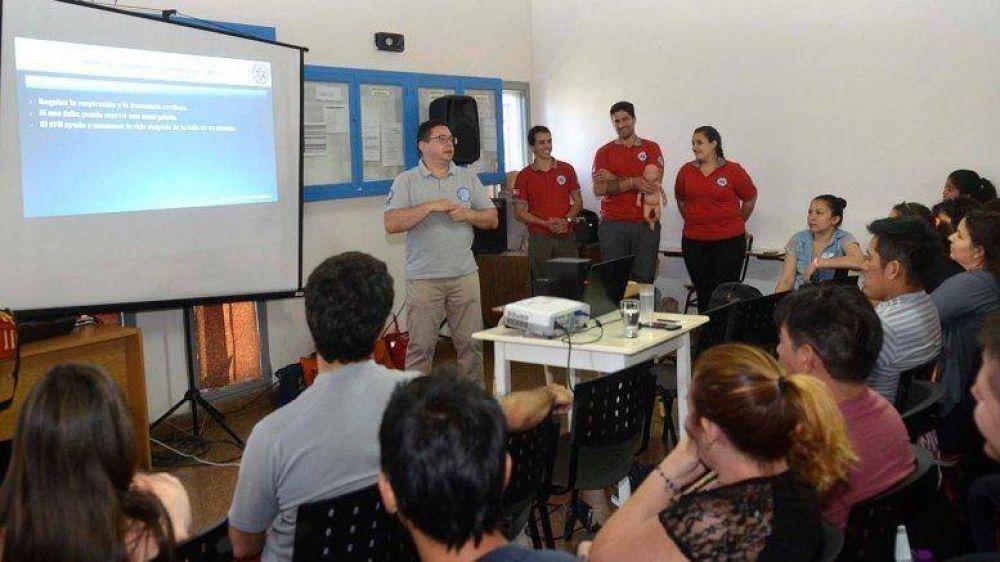 ATSA: importante formación para primeros respondientes en emergencias