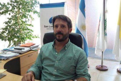 Lucas Caymes es el nuevo presidente de San Luis Agua