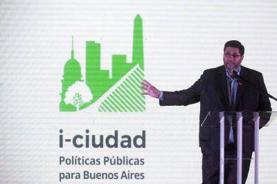 Con una gran convocatoria, Olmos lanzó I-Ciudad, el nuevo Instituto de Políticas Públicas