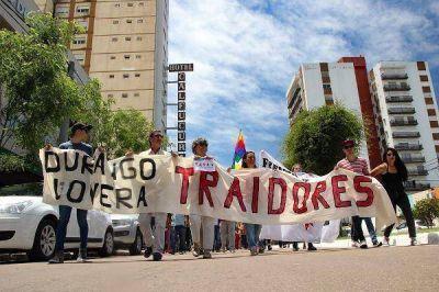 Ajuste a jubilados: el Frente Barrial, esta vez destacó a diputados del PJ La Pampa