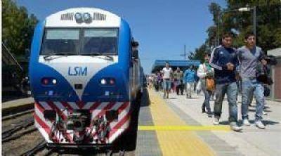La electrificación del San Martín, un paso más cerca