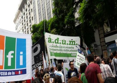 """Adum decretó paro """"contra el ajuste y la reforma previsional"""""""