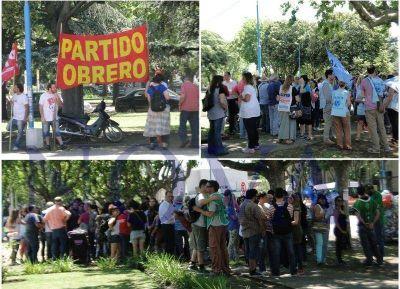 Nueva manifestación contra el ajuste frente al municipio