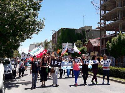 Gremios, la izquierda y el kirchnerismo marcharon contra la reforma jubilatoria