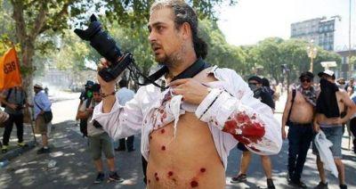 El Sindicato de Prensa repudió la agresión a periodistas y fotógrafos