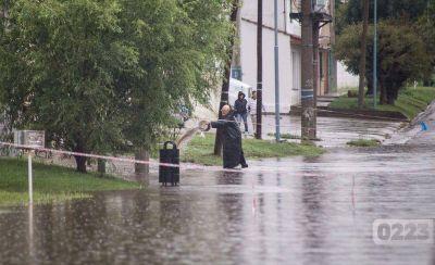 Durante el 2017 llovió en Mar del Plata un 50% más que el promedio histórico anual