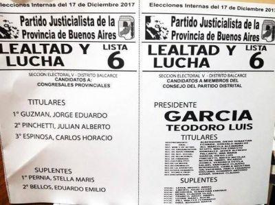 """Balcarce: García y Guzmán van por """"un PJ de todos, no de pocos"""""""