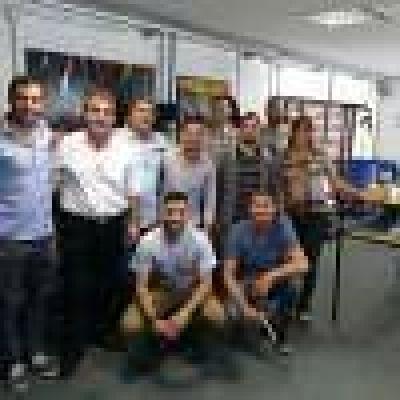 Ingenieros del INTI visitaron laboratorios de la UNNOBA y el predio ferroviario