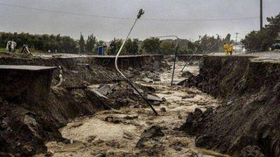 Se avanzó en proyectos por obras hídricas para Cañadón Las Quintas y la cuenca de Km 3