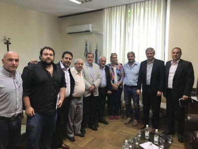 El Presidente del HCD recibió al Ministro de Ciencia y Tecnología de la Provincia de Buenos Aires
