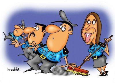 Vidal creará un registro de policías exonerados para controlar que no sigan delinquiendo