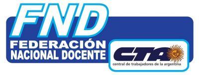 La Federación Docente convoca a paro nacional y movilización