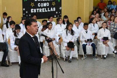 El Gobernador Casas encabezó el acto central por el cierre del ciclo lectivo 2017