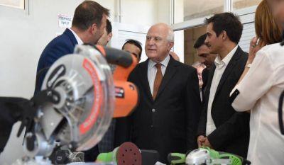 Lifschitz inauguró el Centro Tecnológico del Mueble