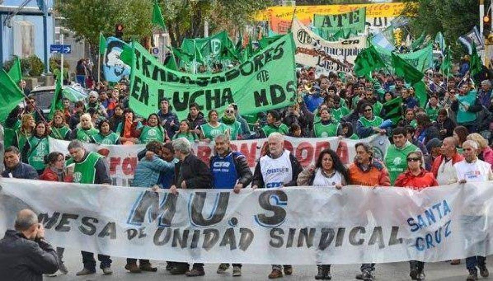 La Mesa de Unidad Sindical movilizará contra las reformas