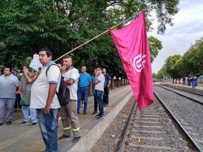 Ferroviarios advierten sobre la situación del Sarmiento