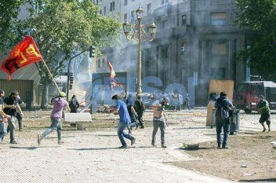 Otra jornada marcada por la violencia, el caos y la represión