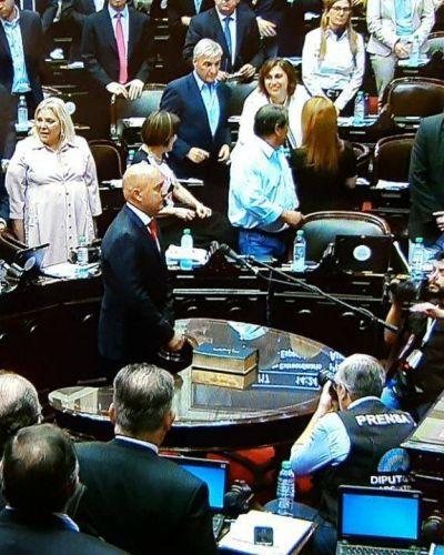 """Vallone juró como diputado nacional """"por San Luis, sus derechos y la justicia social"""""""
