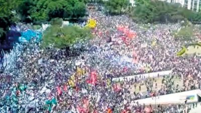 La masiva marcha que fue invisibilizada