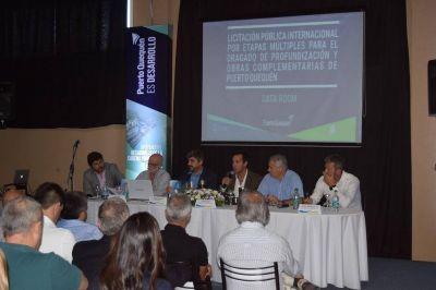Puerto Quequén avanza en el proceso licitatorio para su profundización