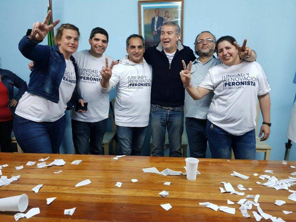 Con poca participación, Rivero fue electo como el nuevo presidente del PJ necochense