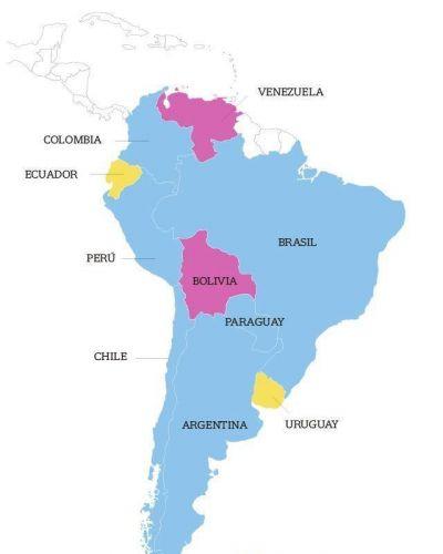 El giro político de América latina: la izquierda perdió terreno en varios países