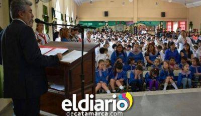 El ministro de Educación cerró el ciclo lectivo 2017 en Los Altos