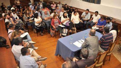 El ministro de Justicia y Derechos Humanos mantuvo reunión con diferentes organismos