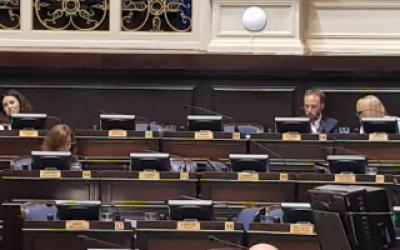 Diputados peronistas facilitaron el quórum para aprobar reforma jubilatoria del Banco Provincia