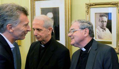 El Presidente recibió a las autoridades de la Iglesia