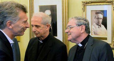 Macri recibió en Casa Rosada a la nueva cúpula de la Iglesia católica