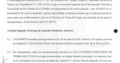 Se homologó el acuerdo del Dunga Dunga que congela dos años los salarios en la UOM Tierra del Fuego