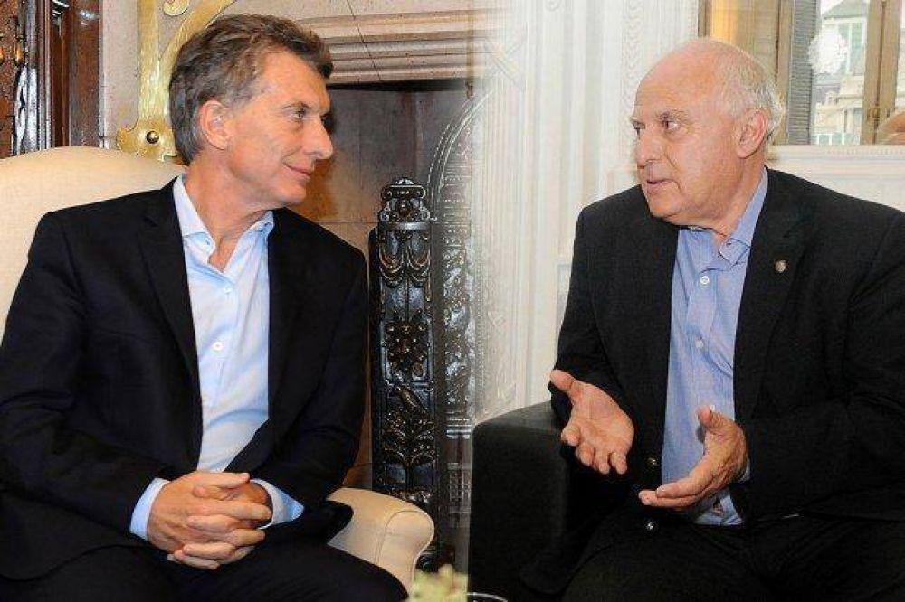 Lifschitz suspendió una reunión con Macri en Olivos