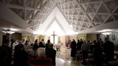 Homilía del Papa: Que los cristianos sean alegres