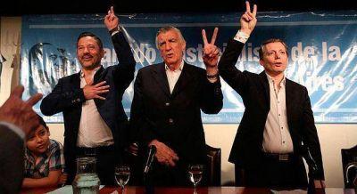 Menéndez asumió la presidencia y llamó a la unidad