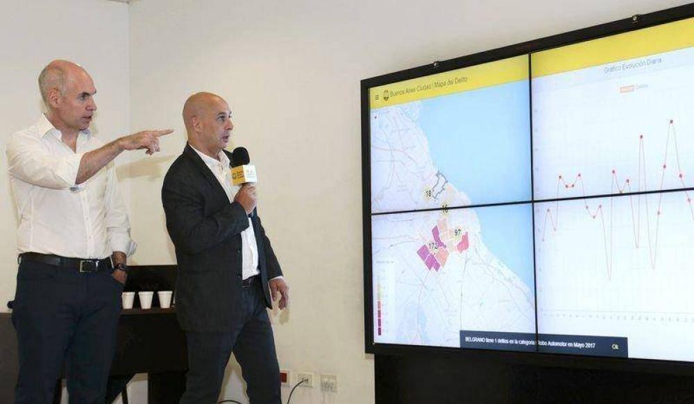Ciudad: El Mapa del Delito será abierto al vecino