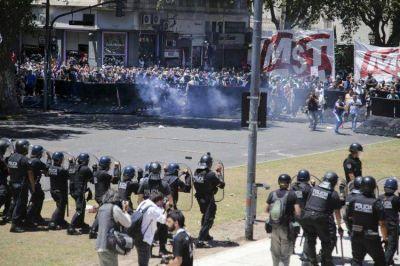 Detectaron a un policía bonaerense infiltrado en la marcha del lunes