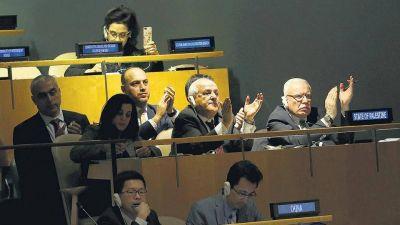 Respaldo de la ONU a Palestina