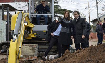 Vidal echó al titular de la obra hidráulica bonaerense