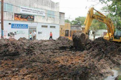 El Municipio extiende las obras de asfalto a más barrios de Lomas