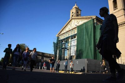 Recién en dos años estarán listas las obras en la Catedral