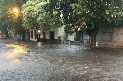 Mar del Plata pasada por agua: en 2017 llovió un 61% más de la media