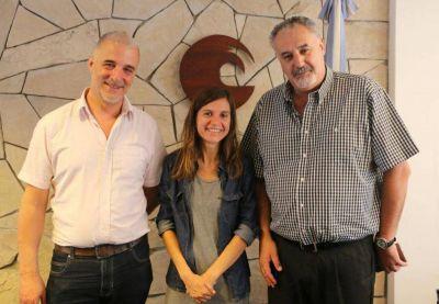 Raverta se reunió con autoridades de la Universidad