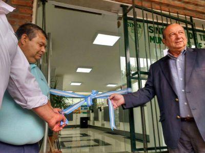 Con ampliaciones, reabrió la Farmacia Sindical de Municipales