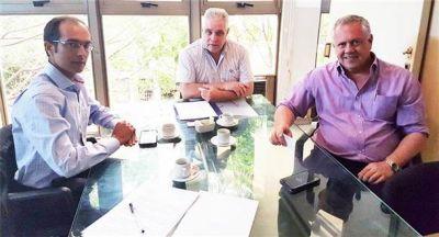 El intendente Pisano se reunió con el director de Energía
