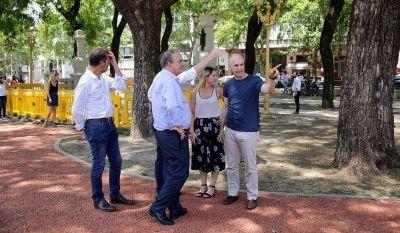 La Ciudad denunció a agrupaciones para que paguen los arreglos de la Plaza del Congreso